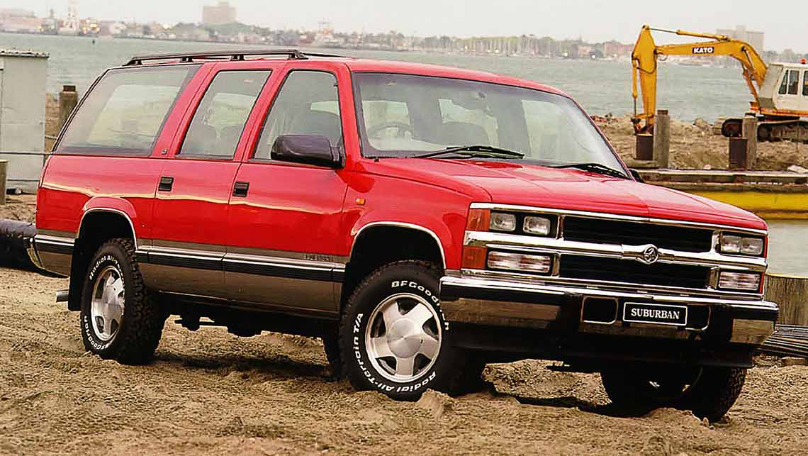 Used Holden Suburban Review 1998 2001 Carsguide