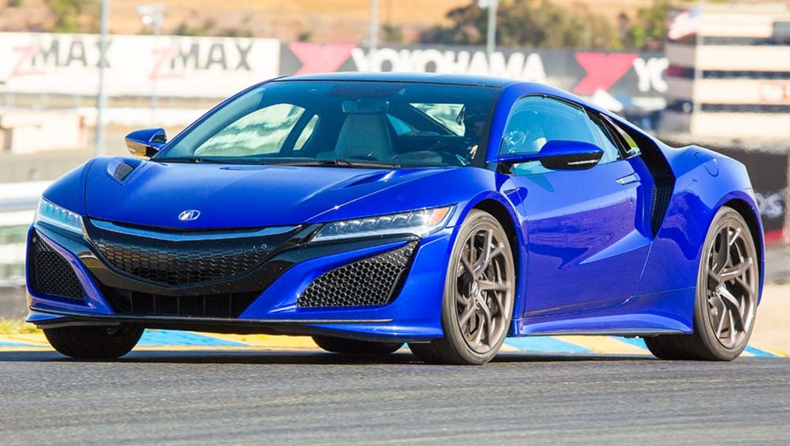 2016 Honda NSX (US model)