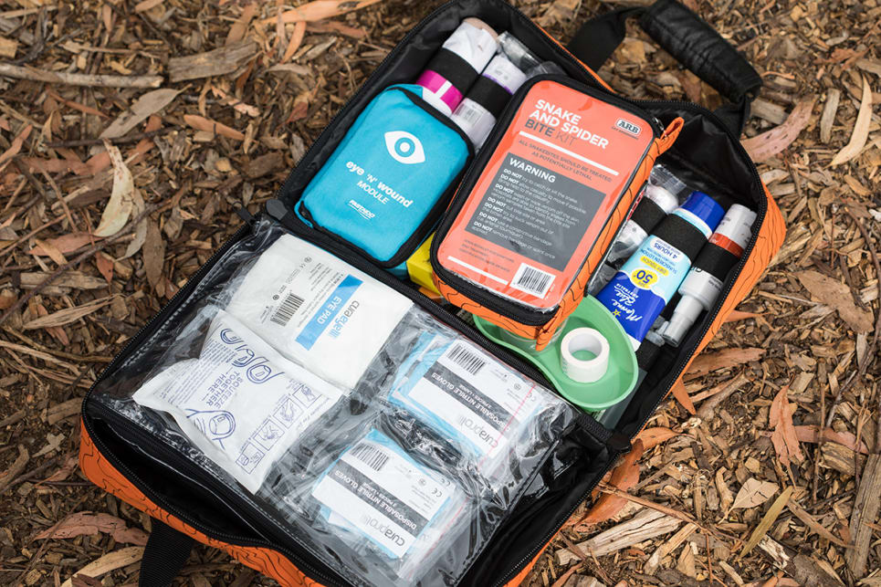 A first aid kit.  (image credit: Dean McCartney)