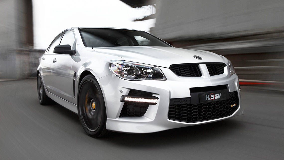 HSV GTS sedan and Maloo ute