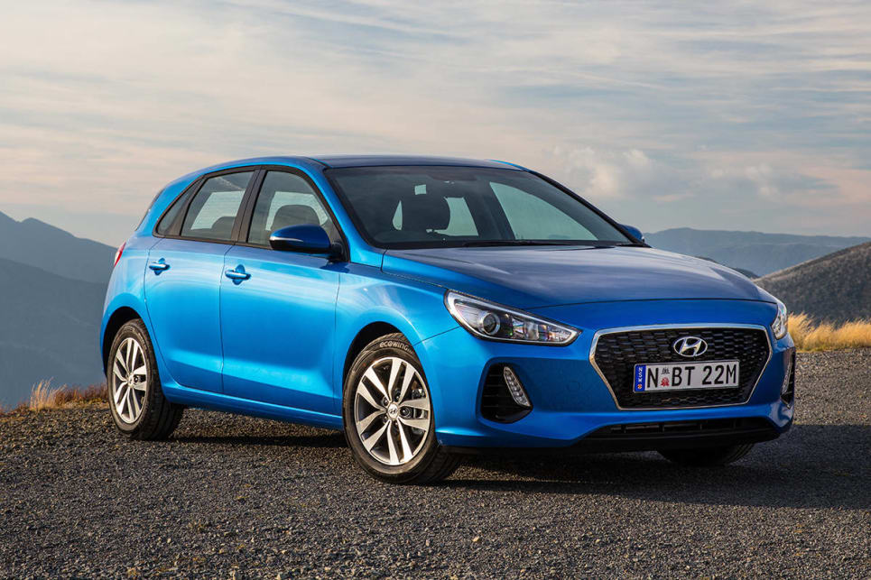 2017 Hyundai i30 (Active petrol variant shown)