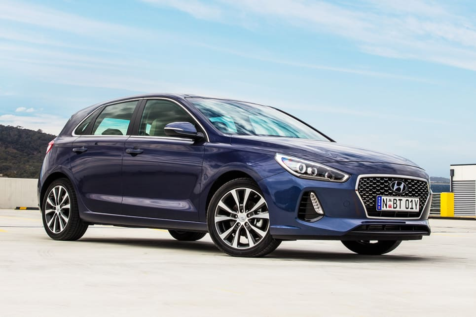 2017 Hyundai i30 (Active Premium variant shown)
