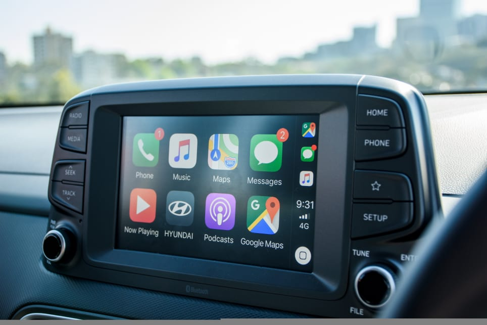 The Active comes with a 7.0-inch multimedia touchscreen with Apple CarPlay and Android Auto connectivity. (Active variant pictured - image: Tom White)