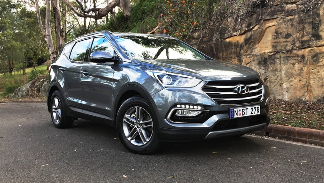Hyundai Santa Fe Active Diesel 2017 Review Carsguide