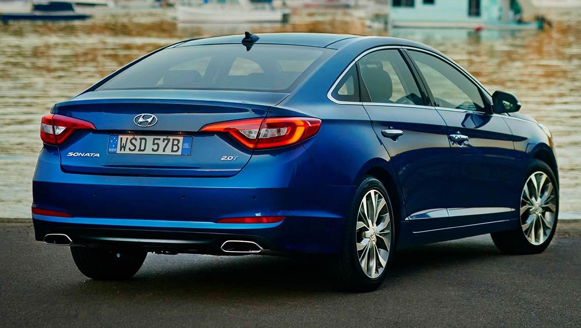 Hyundai Sonata Premium 2015 review   CarsGuide