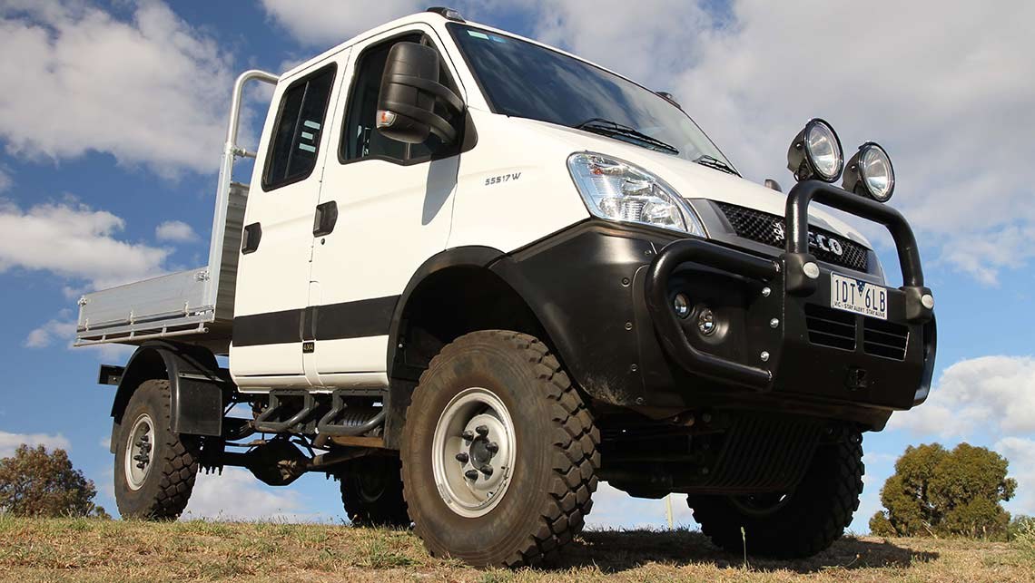 2015 Iveco Daily 4x4 cab-chassis