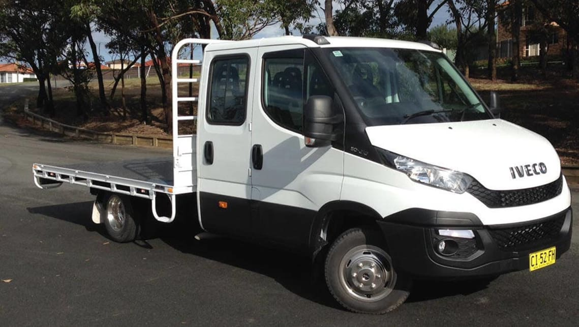 Iveco Daily Dual Cab 50c17 Turbo 2016 Review Carsguide