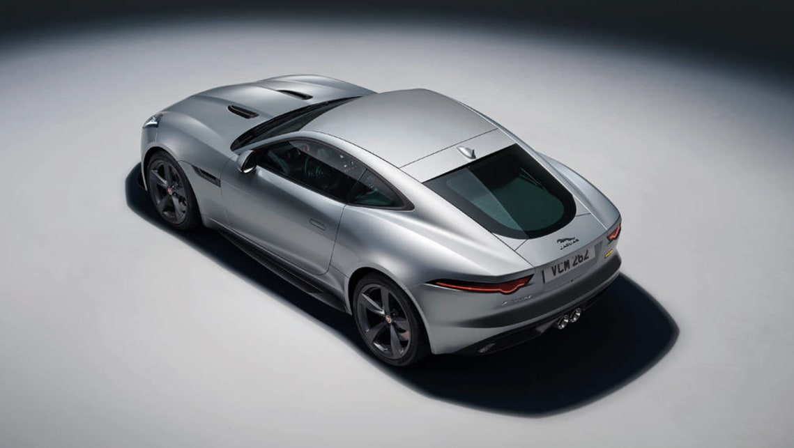 2017 Jaguar F-Type range: Jaguar F-Type 400 Sport coupe