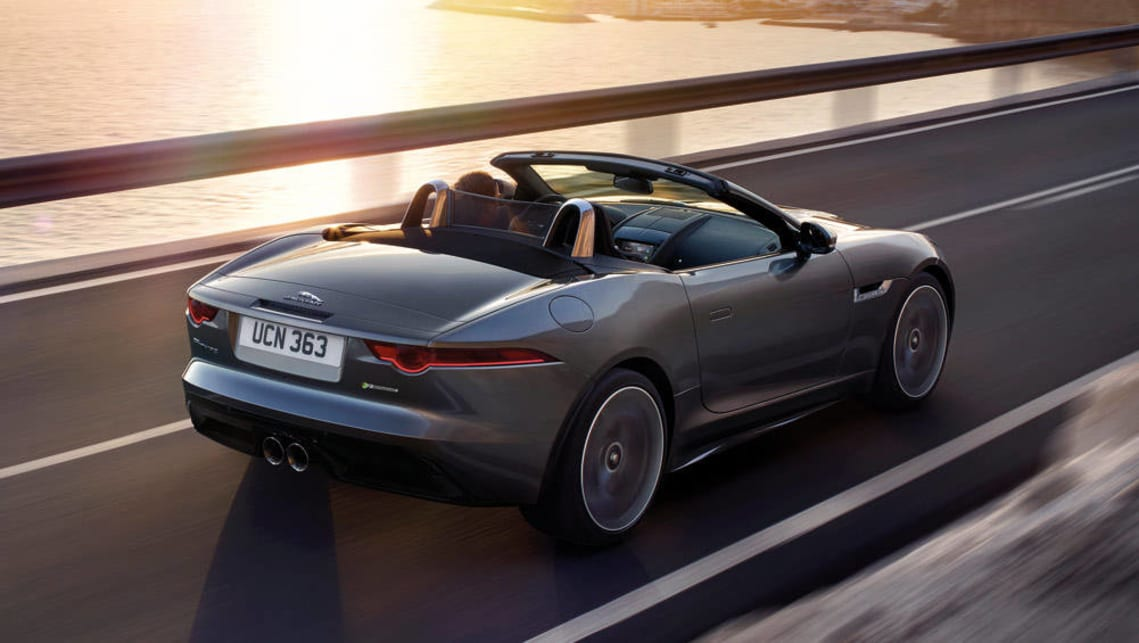 2017 Jaguar F-Type range: Jaguar F-Type R-Dynamic convertible