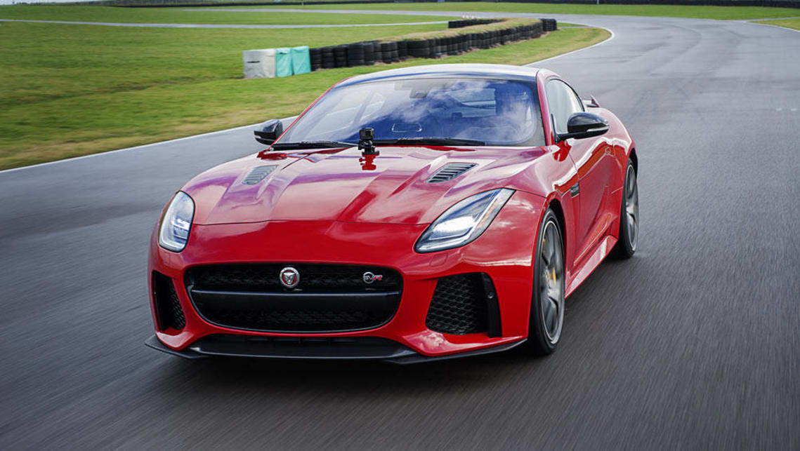 2017 Jaguar F-Type range: Jaguar F-Type SVR coupe
