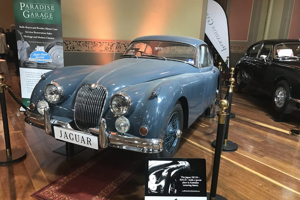 Jaguar XK150. (image credit: James Cleary)