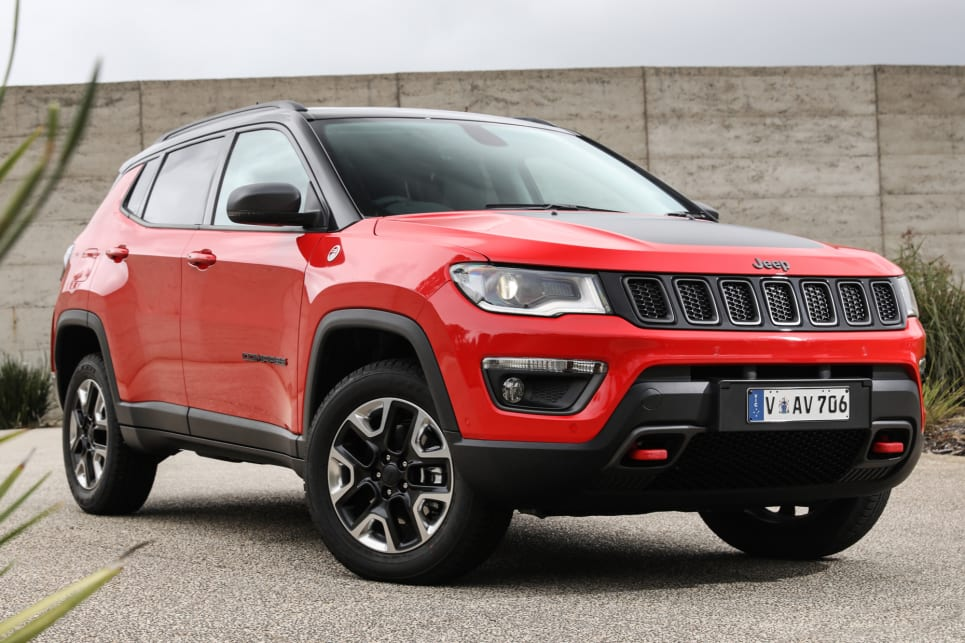 The top variant Trailhawk is priced from $44,750.