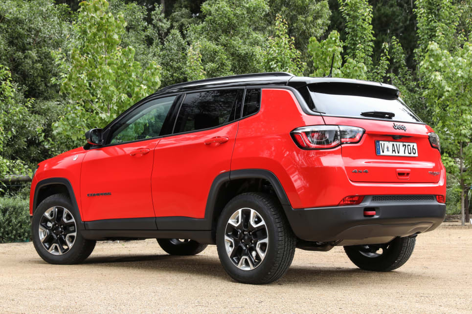 Standard on the Trailhawk is Jeep's Low-range 4x4 system, off-road suspension and a raised ride height.