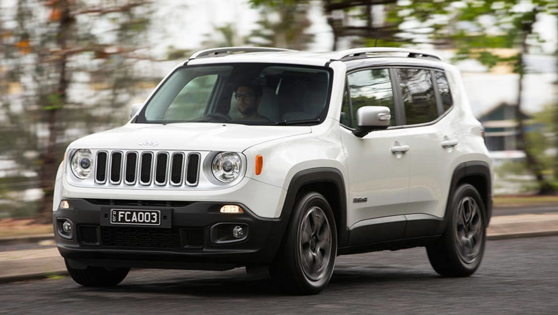 Jeep Renegade Limited >> Jeep Renegade Limited 2016 Review Carsguide