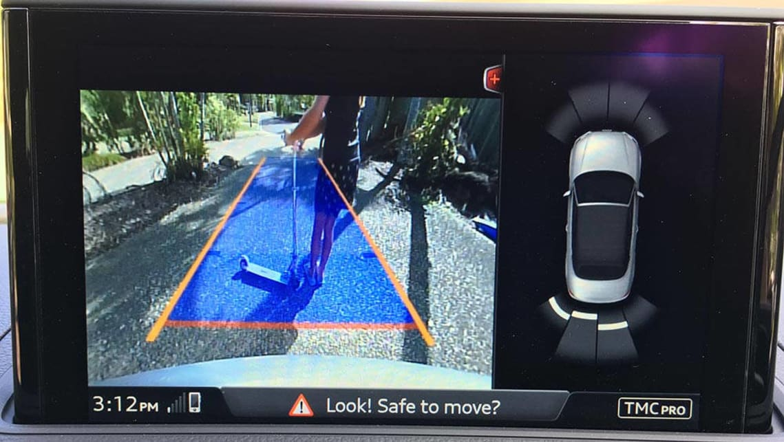 Rear cameras and sensors reduce reversing danger