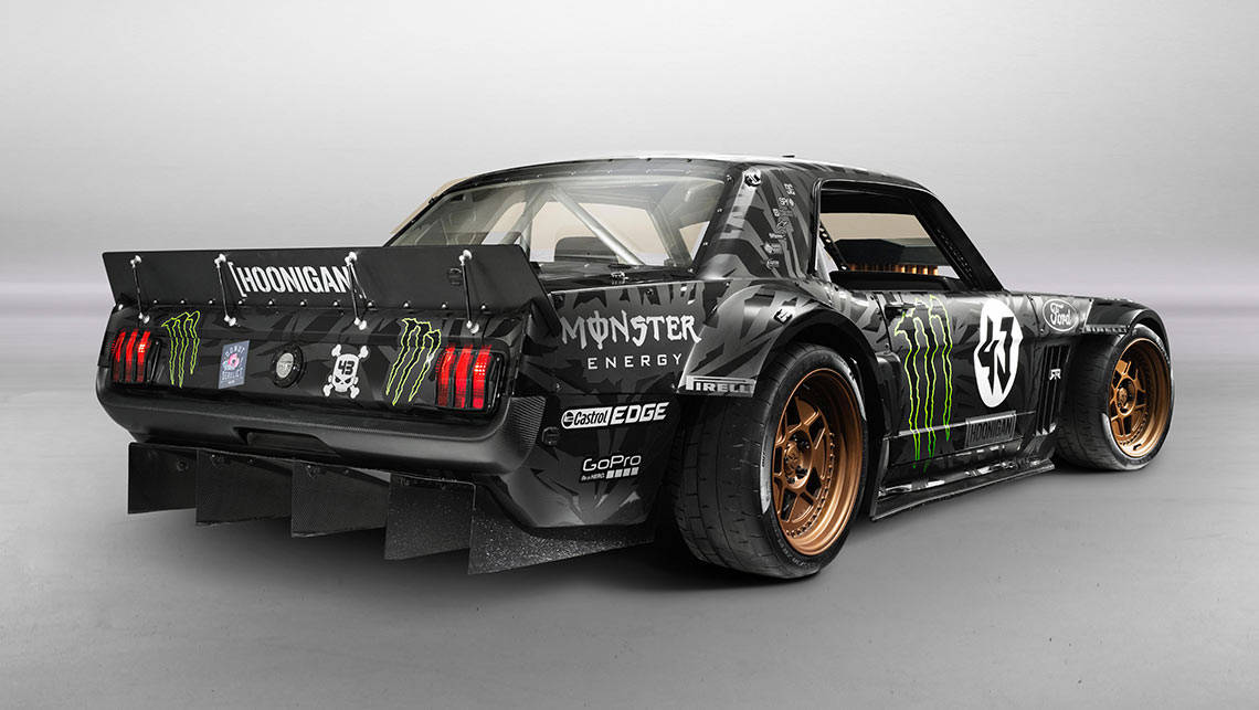Ken Block's new V8 Ford Mustang