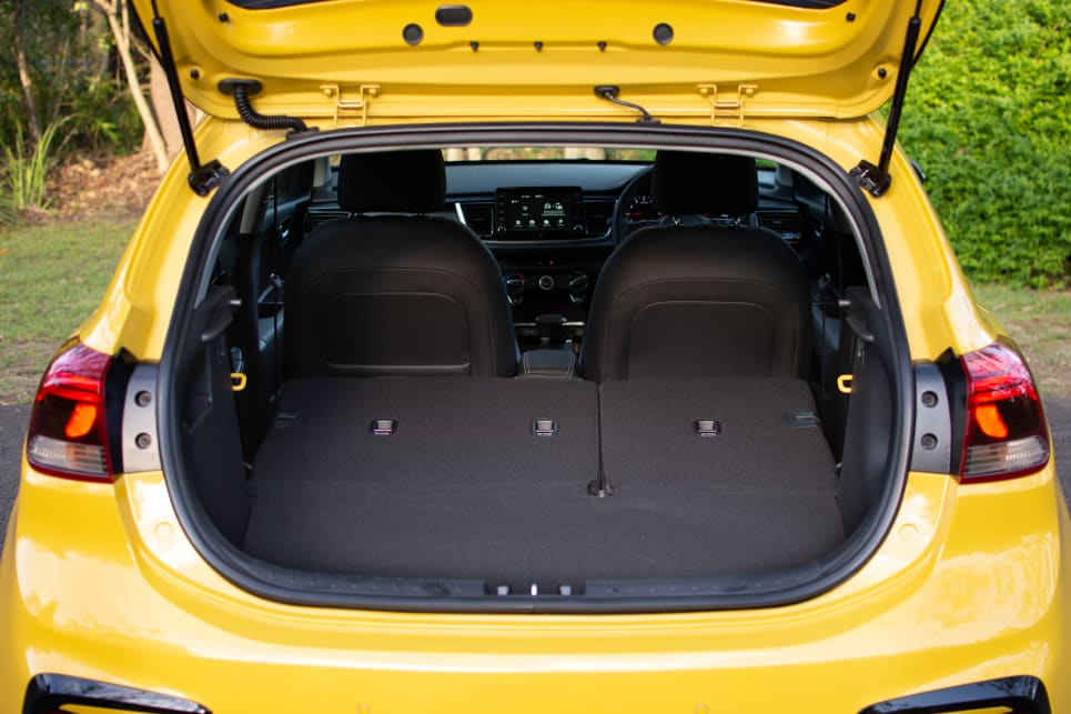 With the rear seats down, there's 980 litres of boot space. (VDA)