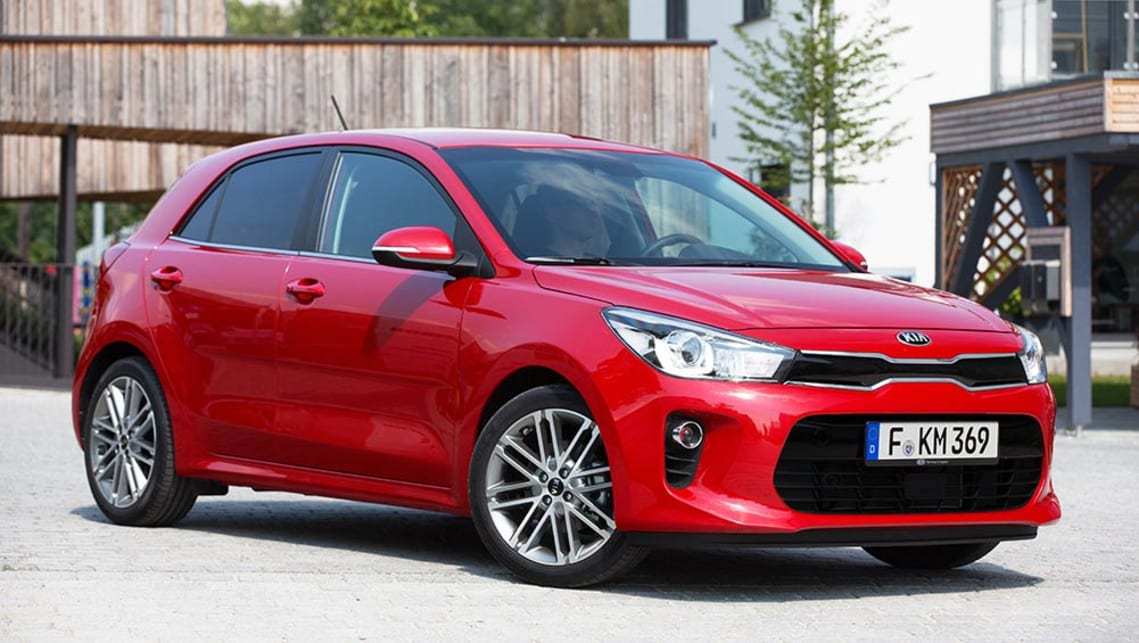 2017 Kia Rio. International images shown.