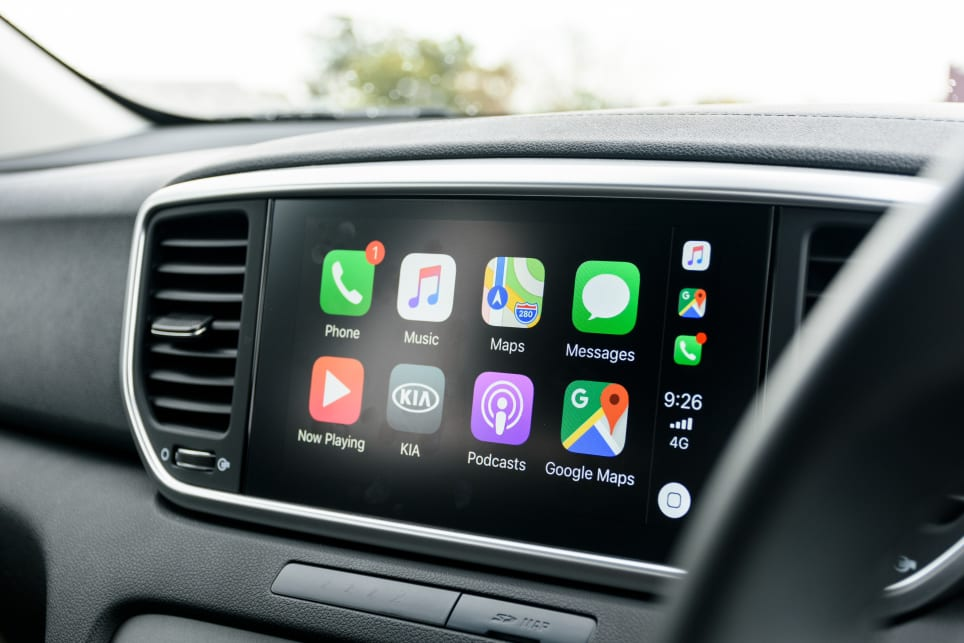 Featuring an 8.0-inch multimedia touchscreen with Apple CarPlay and Android Auto support.