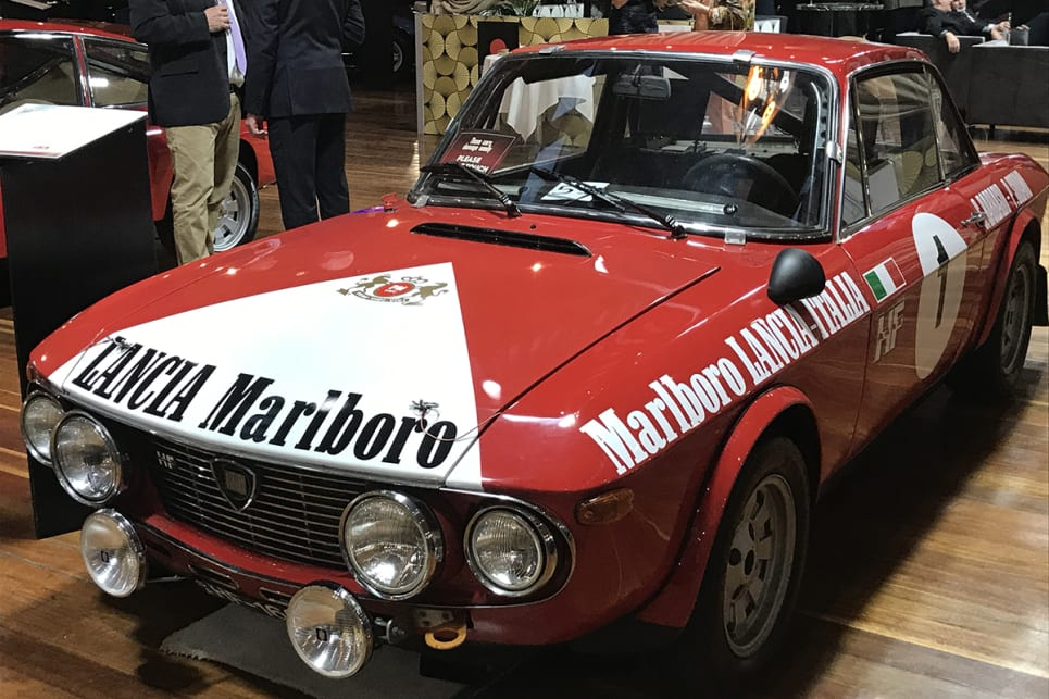 Lancia Fulvia Rallye. (image credit: James Cleary)