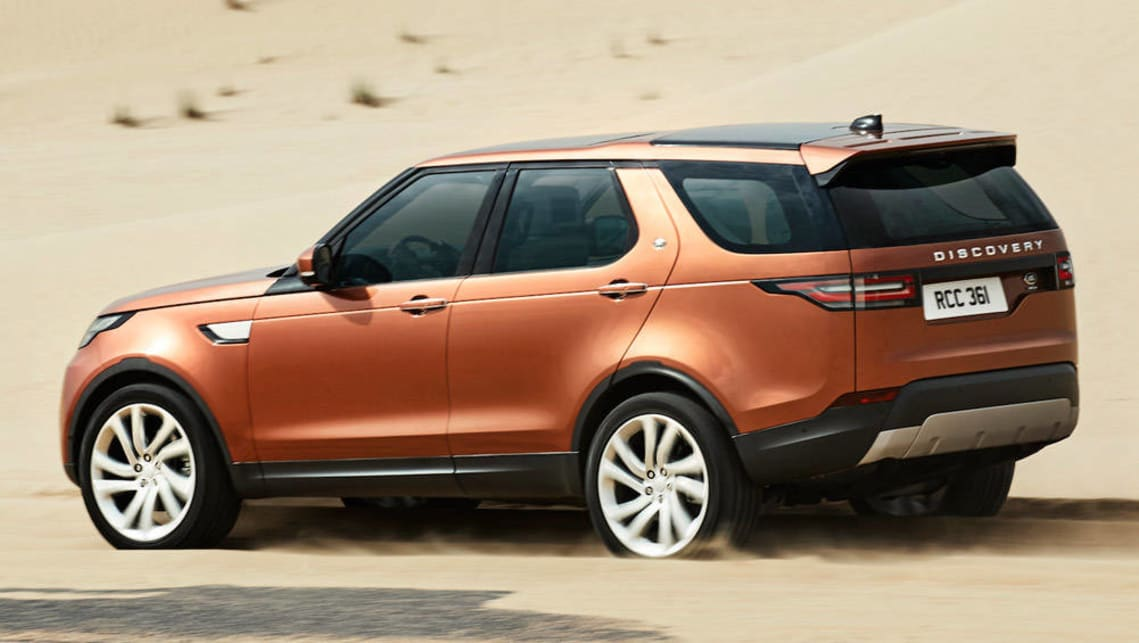 2017 Land Rover Discovery 5.