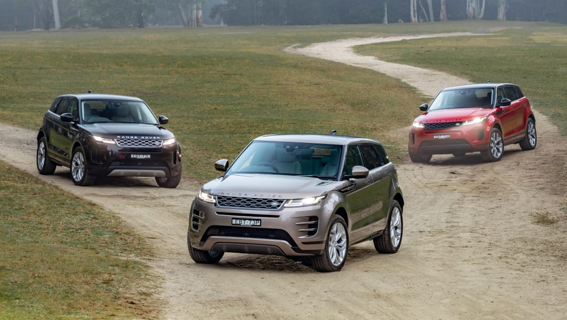 Now a style icon, but the Range Rover Evoque stays true to its brand heritage.