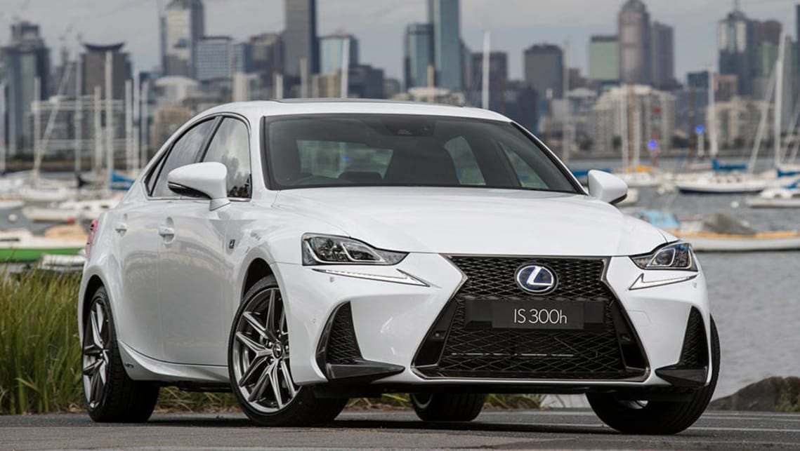 2016 Lexus IS300h F Sport.