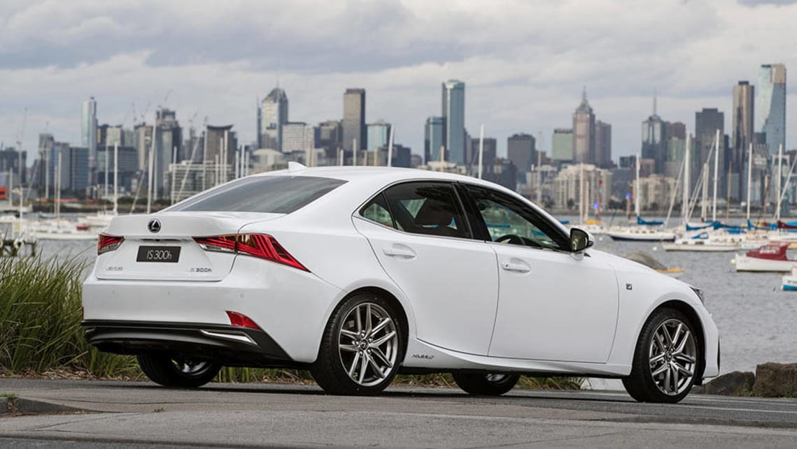 2016 Lexus IS300h F-Sport.