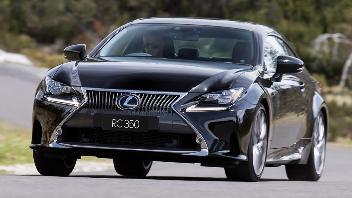 2015 Lexus RC 350 Sport Luxury
