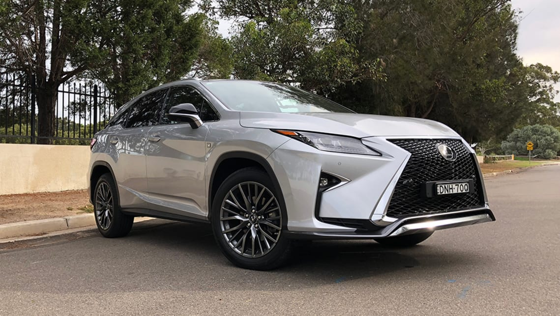 Lexus RX 350 2018 review: snapshot   CarsGuide