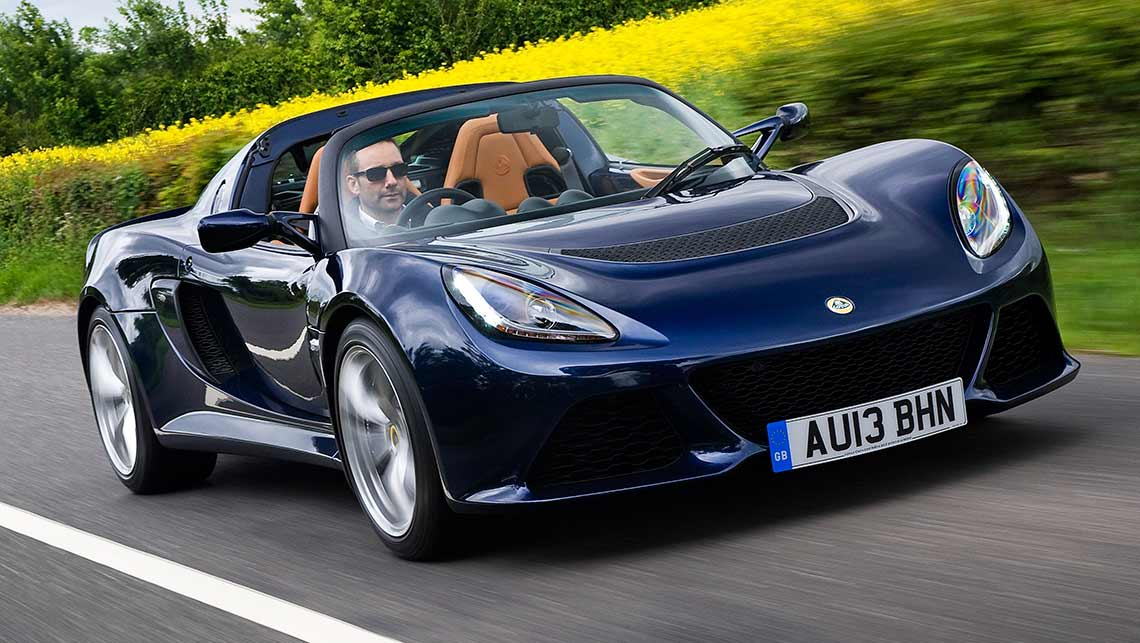 Lotus Exige S soft-top