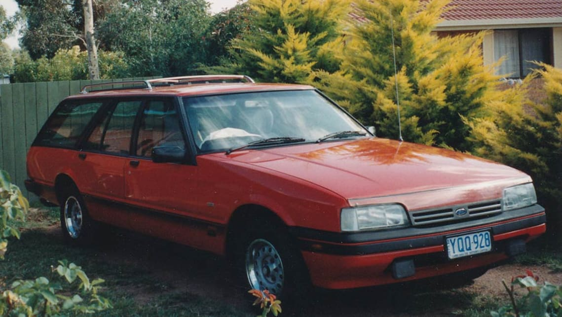 Malcolm Flynn's 1986 XF Ford Falcon S-Pack wagon.