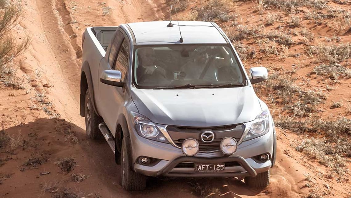 2015 Mazda BT-50 extended-cab