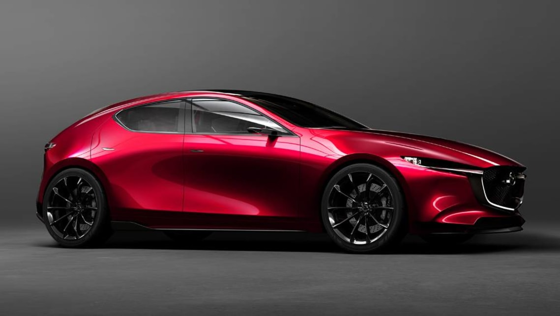 2019 Mazda 3 Hatchback, Redesign, Release Date, & Price >> Mazda 3 2019 Previewed By Kai Concept In Tokyo Car News Carsguide