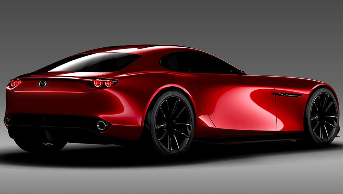 Mazda RX-Vision rotary concept
