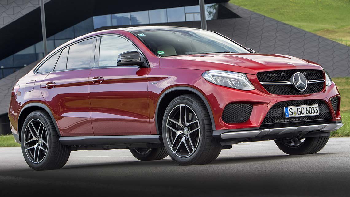 Mercedes-Benz GLE 450 AMG Coupe