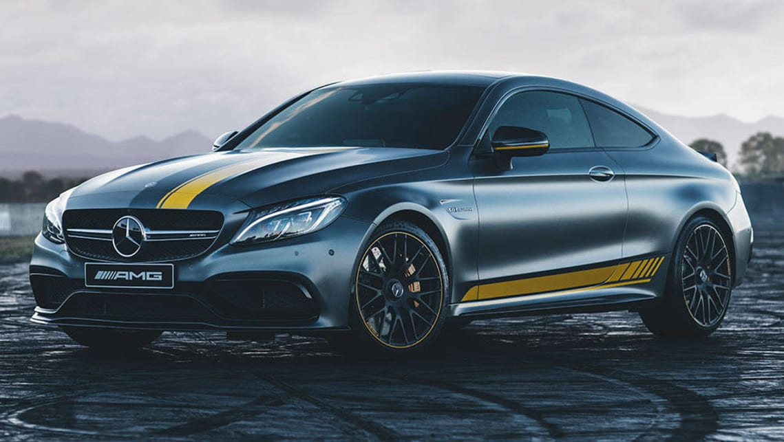 Mercedes Benz C Class C63 S Coupe Edition 1 2016 Review Snapshot Carsguide