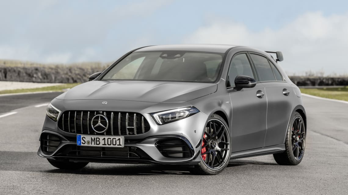 mercedes-amg a45 and cla45 2020 revealed
