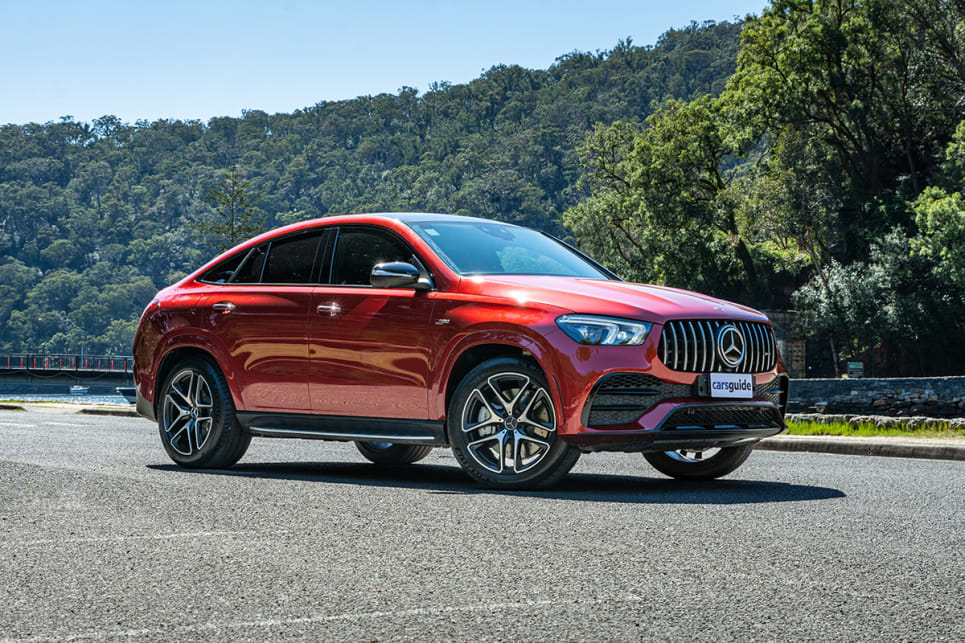 "Are Coupe SUVs the new 'sports cars' to cashed-up mainstream buyers? The GLE 53 asks: ""why not?"". (image: Tom White)"