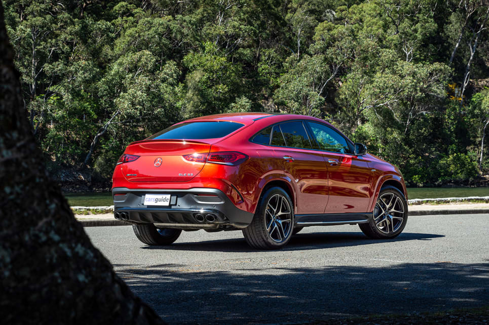 Hate the very concept of a large SUV coupe or not, you have to at least agree this second-generation GLE Coupe looks infinitely better than the model preceding it. (image: Tom White)