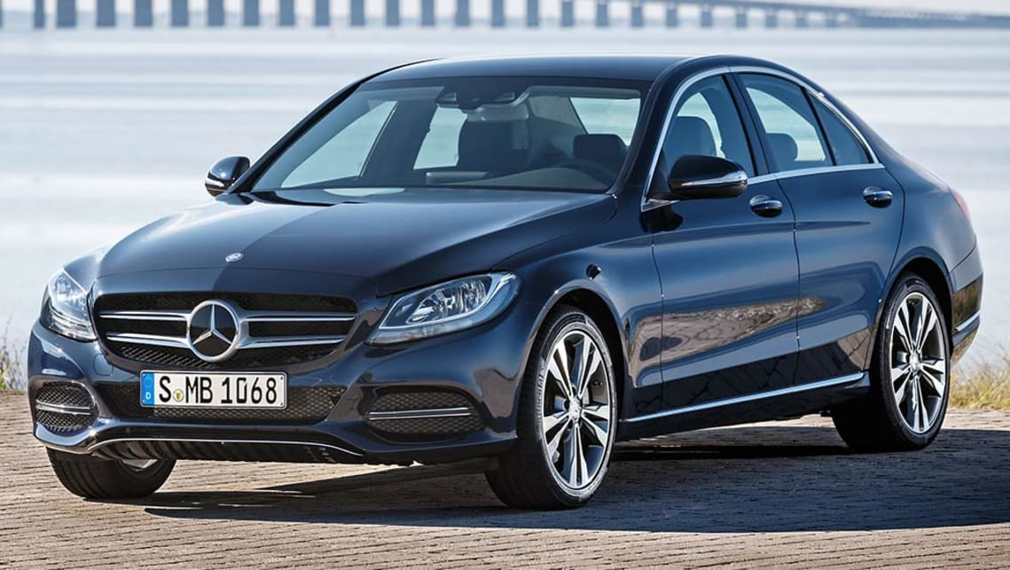 2016 Mercedes-Benz C350e (international model shown)