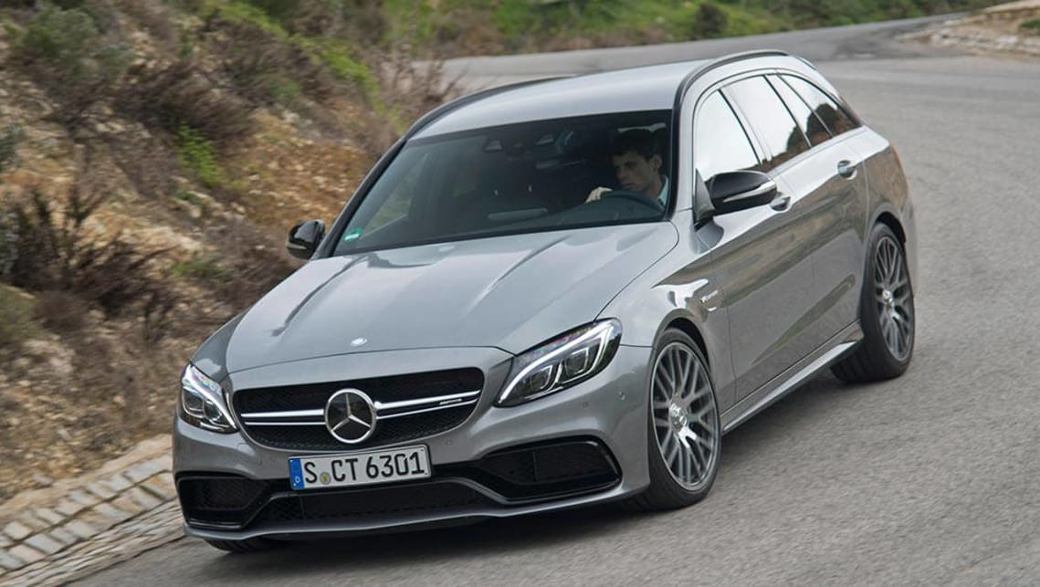 2015 Mercedes-Benz C63 AMG S wagon