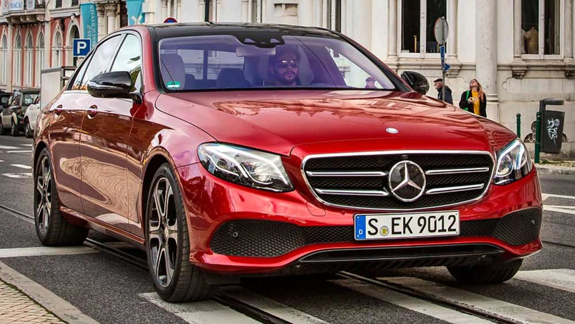 2016 Mercedes-Benz E-Class (international model)