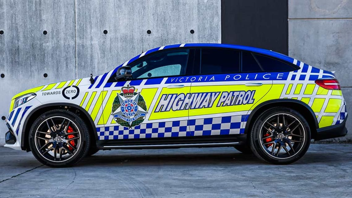 Australia's fastest police car unveiled: $200,000 Mercedes GLE63 AMG Coupe