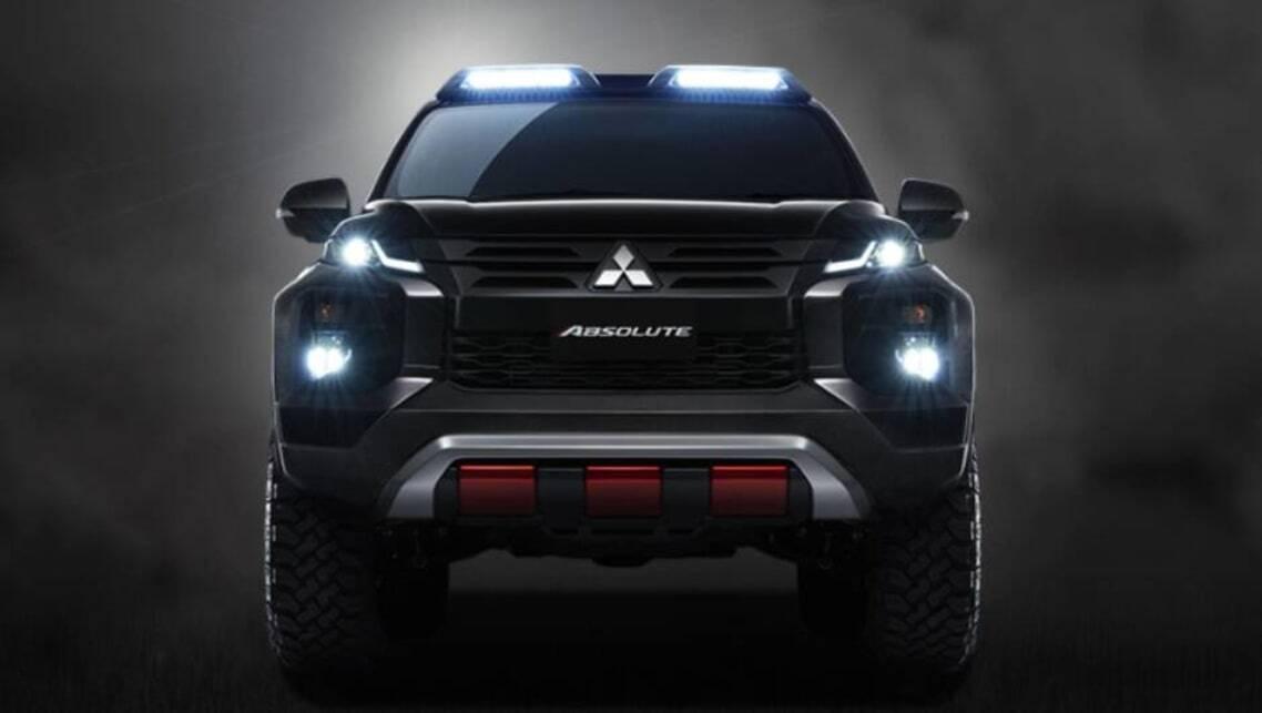 Mitsubishi Plots New Triton Tough Truck Car News Carsguide