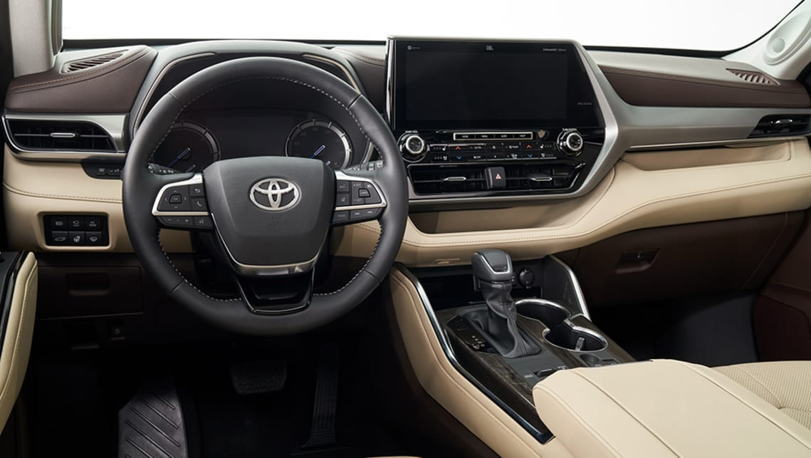 The new Kluger will feature a full suite of 'Active Sense' driver-assistance tech.