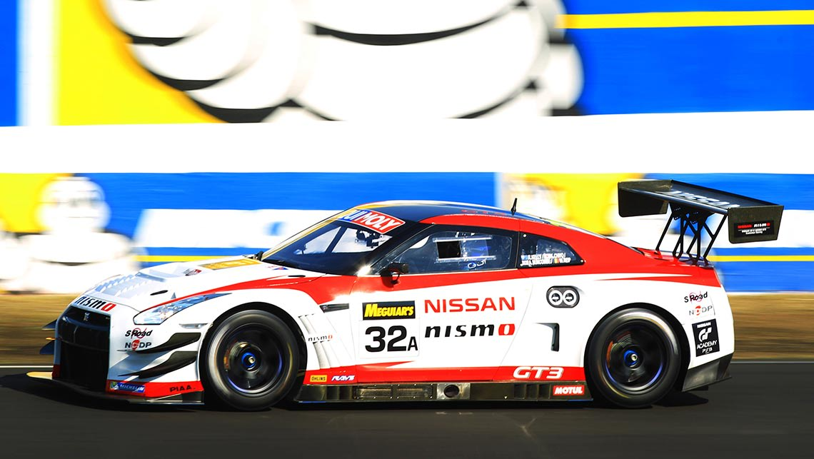 Nissan GT-R Nismo GT3 at the 2014 Bathurst 12 Hour.