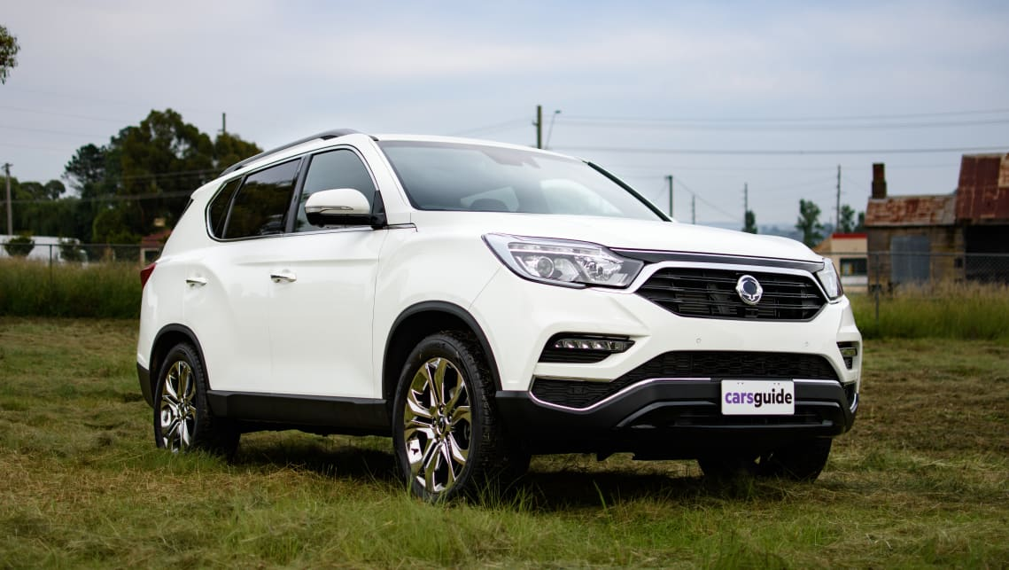 SsangYong Rexton Ultimate.
