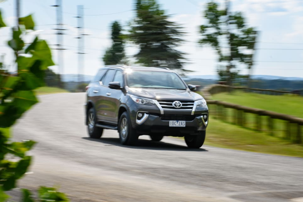 If there was an award for 'Most Closely Resembling A Ute To Drive', it would go to the Toyota Fortuner.