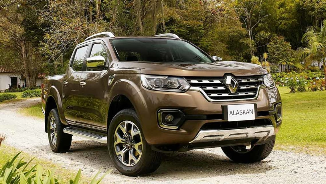 The Renault Alaskan set to appear at the Paris Motor Show.